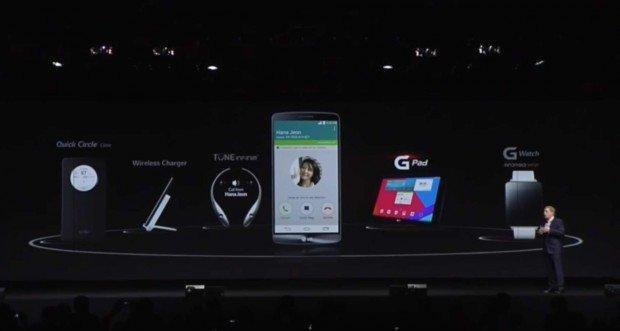 Accessori, per completare l'LG G3
