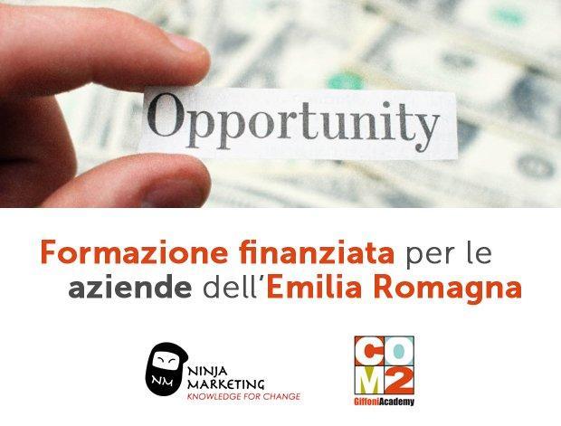 Corsi finanziati: ancora pochi giorni per partecipare al bando in Emilia Romagna!