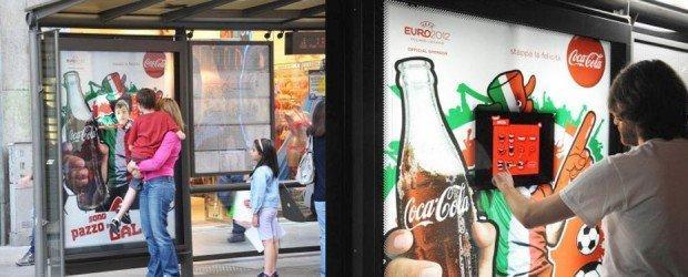 Coca Cola & Euro 2012 a Milano e Napoli