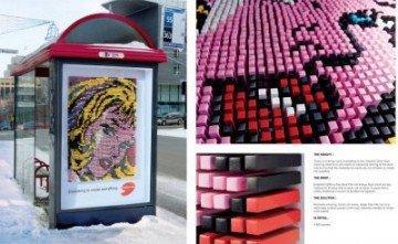 Pensiline ad opera d'arte a Montreal