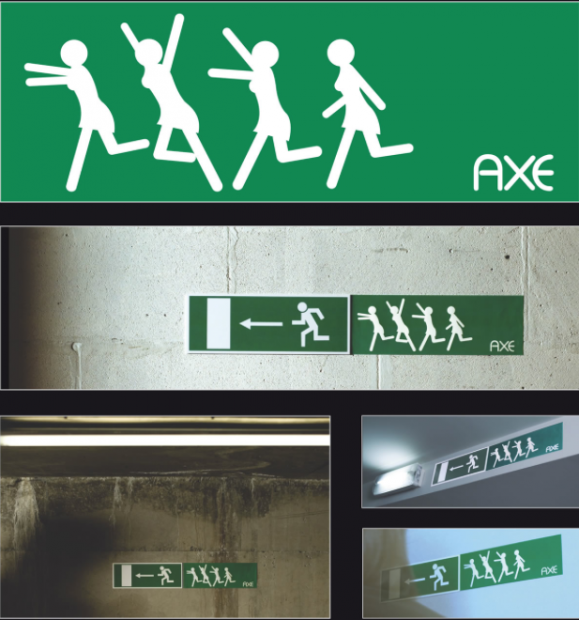 Unconventional Marketing: Axe Exit