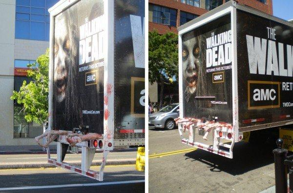 The Walking Dead Guerrilla Marketing