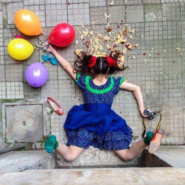 In Extremis, divertenti scatti di persone cadute rovinosamente tra i propri oggetti