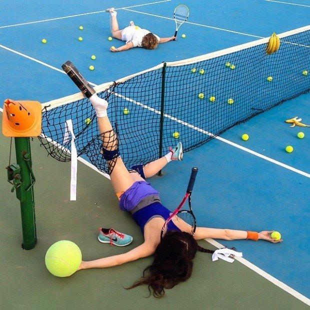 cadute rovinose nel tennis