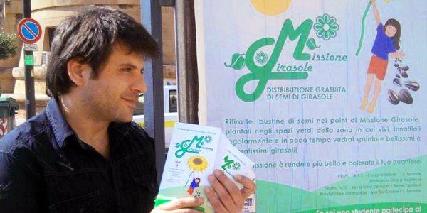 missione girasole Fabio Casciabanca