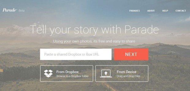 My Parade, trasforma le immagini in storia con il visual storytelling