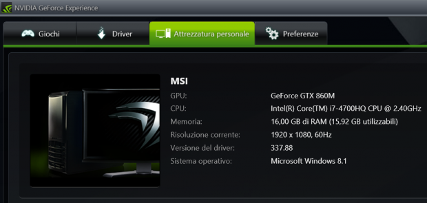 Notebook MSI GE60 2PE Apache Pro powered by Nvidia: il testing di Ninja Marketing