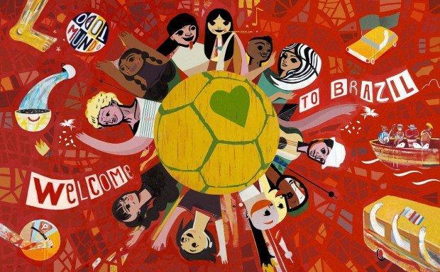 Una festa mondiale la street art di Speto per Coca Cola