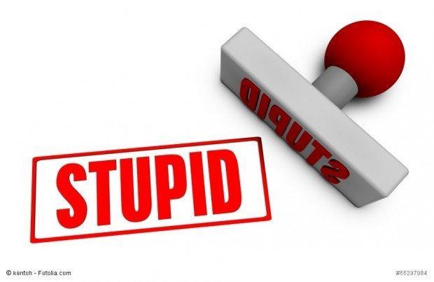 utente stupido