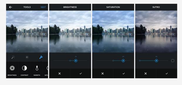Instagram ha introdotto nuovi strumenti per migliorare le nostre foto