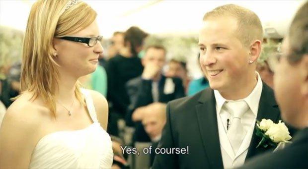 Thomas Cook regala un matrimonio in volo [VIDEO]