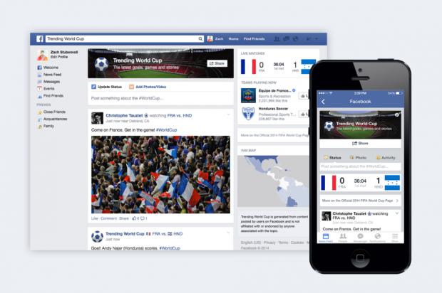 "Sezione ""Mondiali"": segui Brasile 2014 su Facebook"