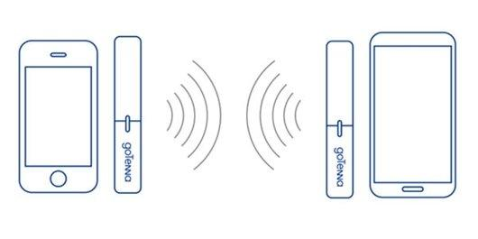goTenna comunicazione tra smartphone