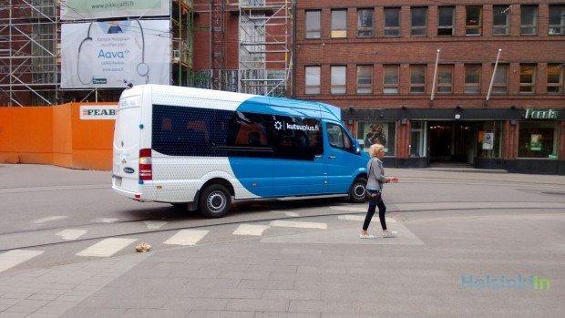 Kutsuplus, minibus a chiamata