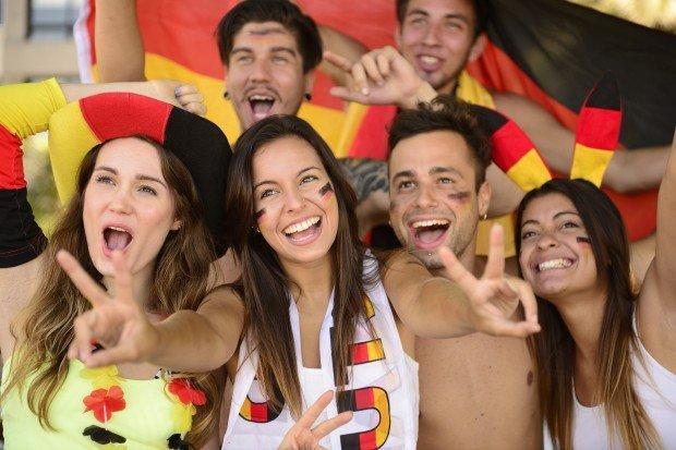 tifosi tedeschi ai mondiali 2014