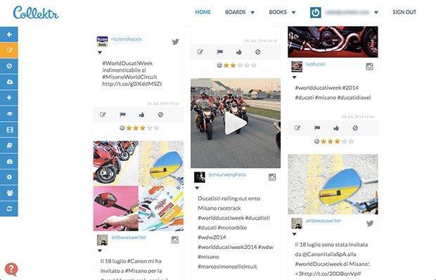 Collektr App: un diario collettivo digitale live