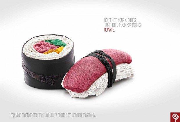 Elvis, Apple e sushi nei migliori annunci stampa della settinana