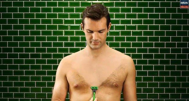 Gillette Body Razor, 100 anni di barba e capelli in stop motion