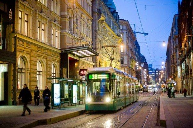 Helsinki, mobilità urbana unificata via smartphone