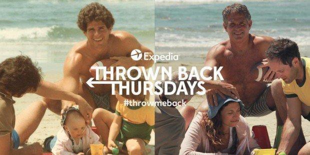 Expedia e i viaggi nel tempo: quando il Throwback Thursday si fa un gioco serio