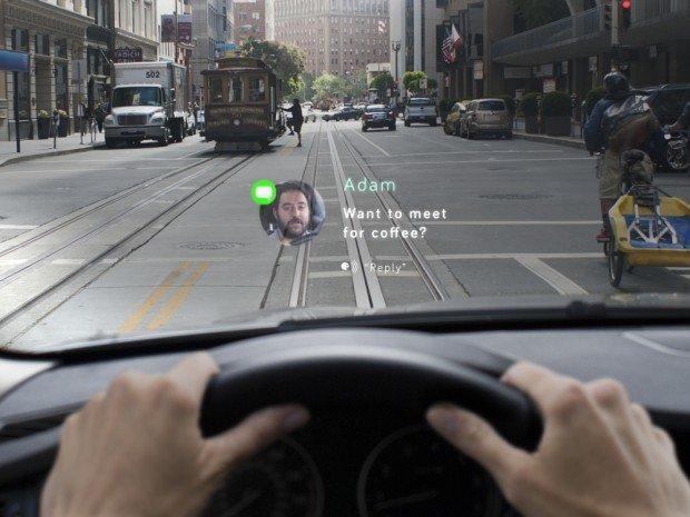 Navdy: il tuo smartphone, direttamente sul parabrezza dell'auto