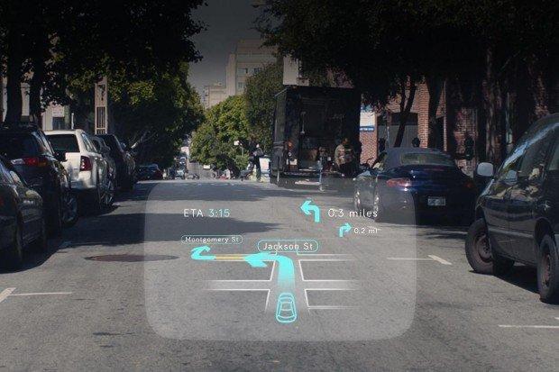 Navdy il tuo smartphone direttamente sul parabrezza dell'auto