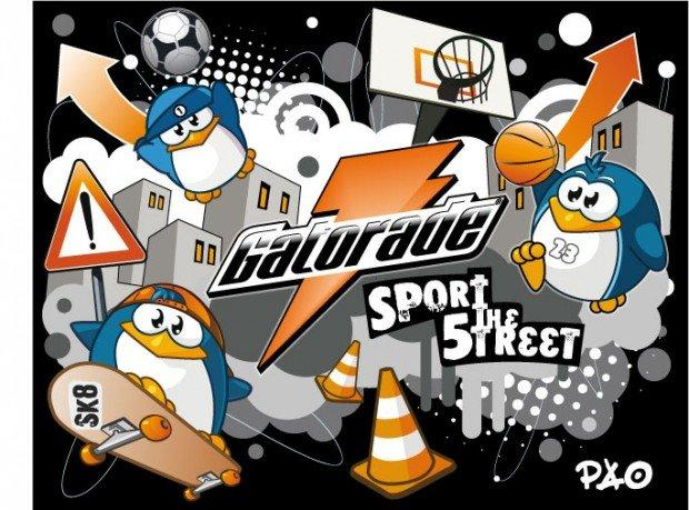 La street art premia i giovanissimi: l'anima urbana di Gatorade