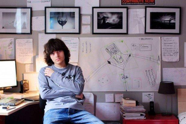 Boyan Slat inventa il modo per ripulire gli oceani grazie al crowdfunding