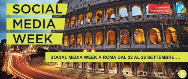 La Social Media Week arriva nella Capitale!
