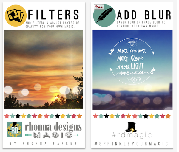 App of the Week: Rhonna Design Magic, il photo editing con il tocco magico