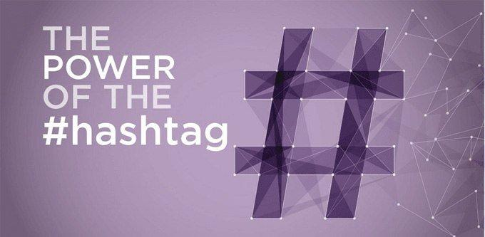 Il potere dell'hashtag