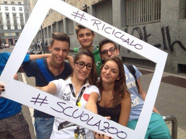 ScuolaZoo e la campagna di guerrilla marketing del tour Riciclalo