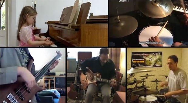 YouTube Cover: ecco come suonano tutte assieme [VIDEO]