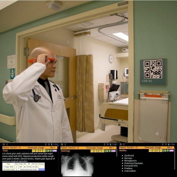 Ecco come i Google Glass rivoluzioneranno il mondo dell'Healthcare