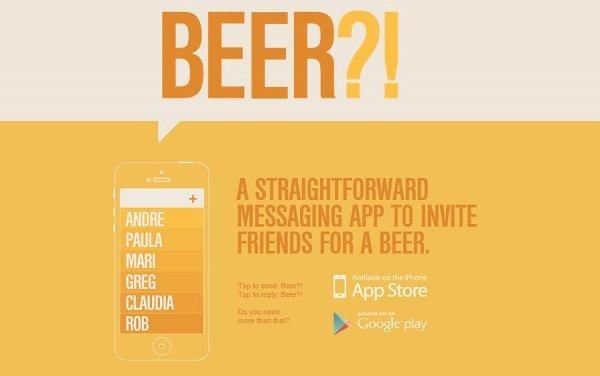 app beer?!