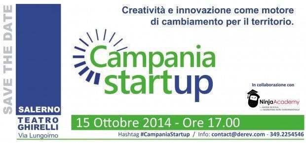 Campania Startup: a Salerno l'incontro tra territorio e innovazione