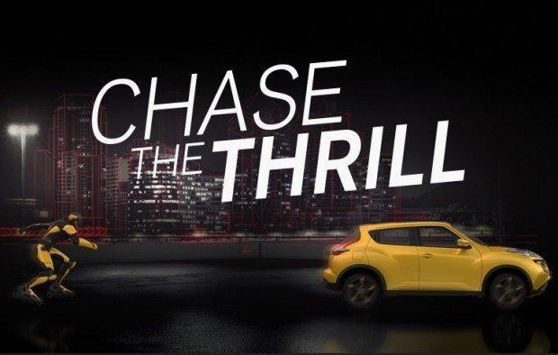 Nissan cattura l'emozione ed oltrepassa il limite con Chase the thrill