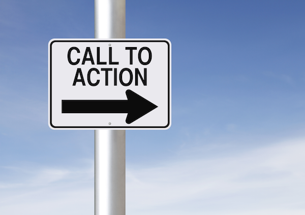 call to action sms marketing