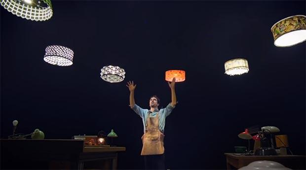 Sparked, l'interazione tra uomo e droni di Cirque du Soleil [VIDEO]
