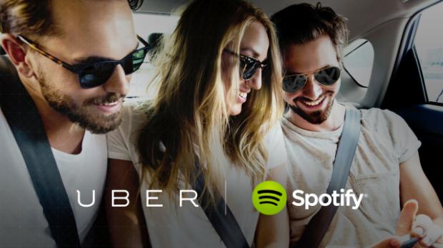 Spotify: sei tu ora il DJ di Uber