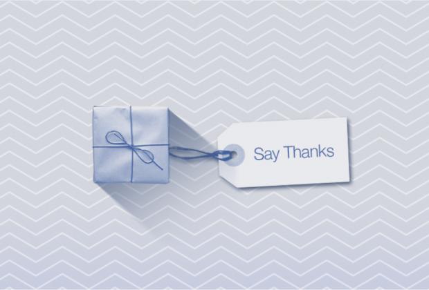 Say Thanks: il  nuovo modo di dire grazie ai tuoi amici su Facebook