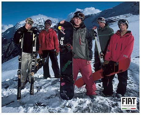 Fiat freestyle team