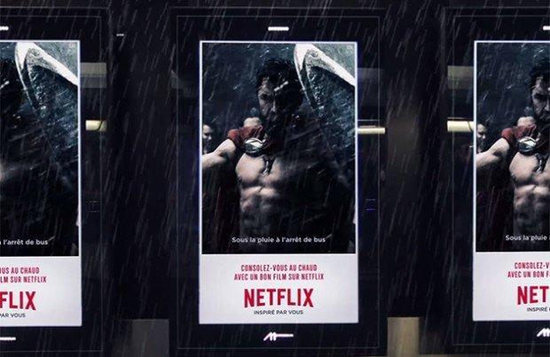 La nuova campagna Netflix vi parla dai muri tramite GIF animate