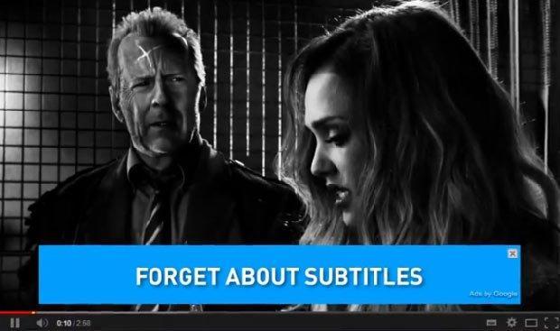 Stop ai sottotitoli: una brillante campagna banner per corsi d'inglese