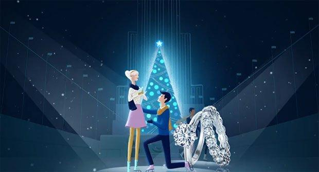 Tiffany & Co. trasforma New York in una fiaba animata [VIDEO]