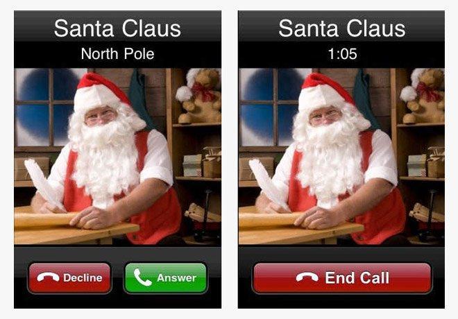 Videochiamata Babbo Natale.5 App Divertenti Che Dimostrano L Esistenza Di Babbo Natale