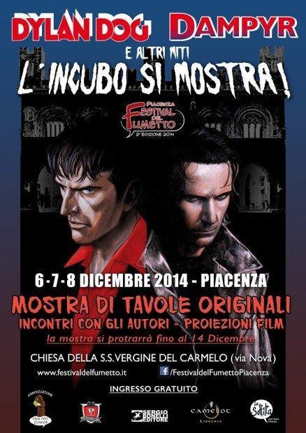 Dylan Dog, Dampyr e altri miti, l'incubo si mostra al Festival del Fumetto di Piacenza