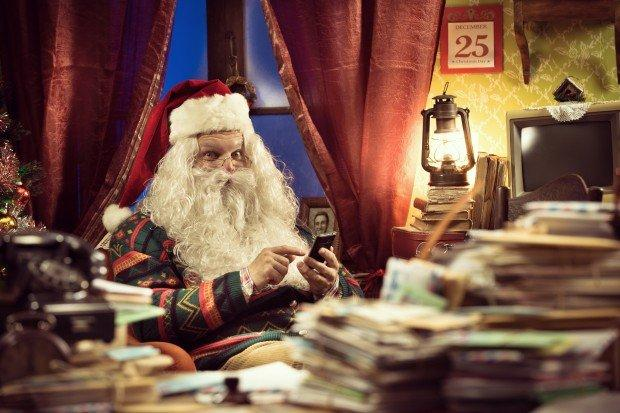 Posizione Babbo Natale.5 App Divertenti Che Dimostrano L Esistenza Di Babbo Natale