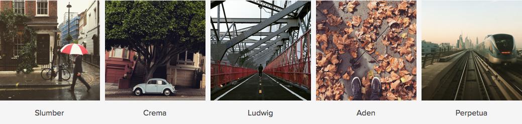 Instagram per Natale ci regala 5 nuovi filtri
