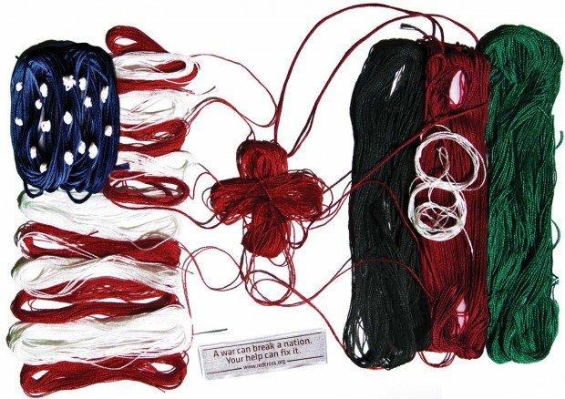 Bandiere, luci rosse e telefonia: i migliori annunci stampa della settimana